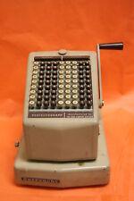 BURROUGHS protectograph checkwriter No. T74-9 * RARE
