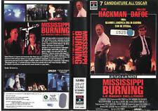 Mississippi Burning. Le radici dell'odio (1988) VHS