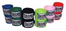 Paire de bandes / bandage pour boxe -THAISMAI - longueur 4,5 m élastiques