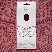 PAMELA MANN 15 Denier Sheer Plain Knit Tights - DAMSON One Size