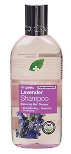 DR ORGANIC Bio-active eco friendly Lavender oil (Organic) shampoo 265 ml