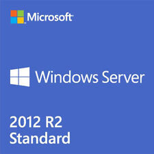 Microsoft Windows Server 2012 r2 standard DVD Inglese 2 CPU, VM 2 p73-06165