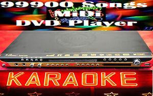 New English Tagalog 99000 >karaoke Songs MIDI DVD player Multi zone