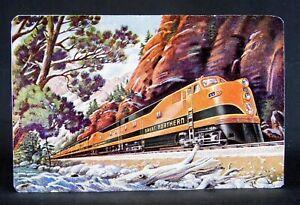 Great Northern Railroad Train - Railway Train Engine