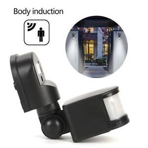 240V 180 Degree Security PIR Motion Movement Sensor Detector Switch Outdoor