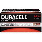 NEW DURACELL QUANTUM AA ALKALINE BATTERIES SEVENTY-TWO  (72) PER BOX EXP 2024