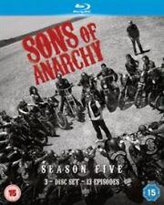 Sons of Anarchy Season 5 Blu-ray UK BLURAY