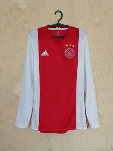 Ajax 2016 - 2017 home shirt jersey Adizero Player Issue size S (6) long sleeves