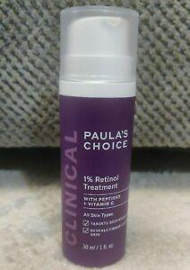PAULA'S CHOICE 1% Retinol Facial Treatment      Deep Wrinkles Minimizer 1 fl oz.