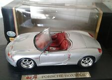 MAISTO 1/18 PORSCHE BOXSTER 1996 GRIGIO MET. 1996 MINT BOX