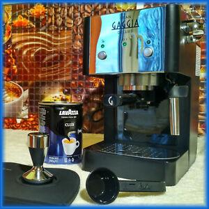 Gran Gaggia Deluxe - Espresso Coffee Machine, 15 Bar