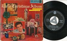 "Elvis Presley EP deutsche RCA EPB-1035-2 ""Elvis' Christmas Album"" S5 Pressung"