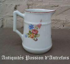 B201710 - Pot à lait porcelaine de Baudour - Pêtre - Très bon état