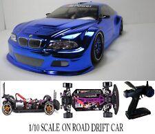 Fully Custom 1/10 Scale Remote Control On-road Drift Car BMW M3