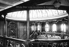 Rare Photo: 5x7: The Upper Grand Staircase, Rms Titanic