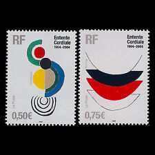 """France 2004 - English-French Threaty """"Entente Cordiale Delaunay"""" - Sc 3009/0 MNH"""
