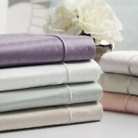 Sleep Like a king Luxury Signature 1 Queen Sheet Set 100% Cotton 700 TC- White