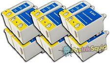 6 Juegos t040/t041 Compatible no-OEM Cartuchos De Tinta Para Epson Stylus C62