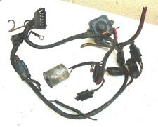 JOHNSON 55hp OUTBOARD ENGINE PARTIAL ENGINE WIRING LOOM, CHOKE & SOLENOID - 1968