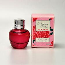L'Occitane PIVOINE FLORA Eau de Toilette 5 Ml 0.17 Oz Mini Perfume Miniature NIB
