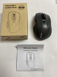 Tecknet Cordless Mouse Model BM307 Bluetooth Optical Mouse Grey