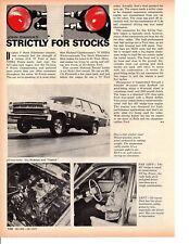 1967 FORD FAIRLANE 427 DRAG RACING / RICHARD CHARBONNEAU ~ ORIGINAL ARTICLE / AD
