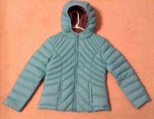 EUC! Girls Sugarfly Light Blue Down Zip Up Jacket Sz L