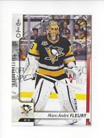 2017-18 O-Pee-Chee #13 Marc-Andre Fleury Penguins