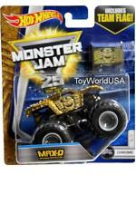 2017 Hot Wheels Monster Jam Chrome #5 Max-D Maximum Destruction