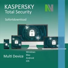 Kaspersky Total Security 2019 MultiDevice 5 PC 1 Jahr - Europas Best Protection