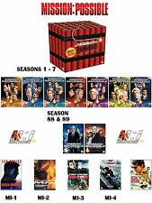 the complete Mission Impossible Boxset Season 1 - 7 + 88 & 89 Series + 5 Films