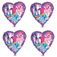 "4x NEW My Little Pony 18"" Foil Balloon Birthday Decorations ~Party Favor Supply~"