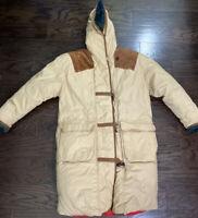 J Gallery Down Jacket Rare Western Long Puffy Winter Vintage Women's Size XL Vtg