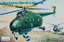 1/144 Eastern Express Mi-4A and Mi-4AB 2 Helicopter Model Kits 14512