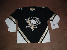 PITTSBURGH PENGUINS BLACK PREMIER KOHO HOCKEY JERSEY LARGE