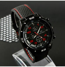 Infantry Military WATCH Army Mens Sport Canvas Quartz Wrist BLACK and WHITE FACE
