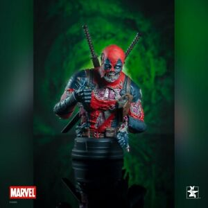 Gentle Giant Marvel Zombie Deadpool SDCC 2020 Exclusive Bust New and In Stock