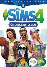 Die Sims 4: Großstadtleben Erweiterungspack (PC/Mac, 2016, DVD-Box) neu + OVP