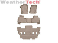 WeatherTech FloorLiner for Tahoe/Yukon w/Bucket Seats - 2015-2019 - Tan