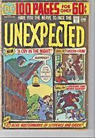 Unexpected (1967 series) #159. DC comics Horror Vintage Comic Large Comic