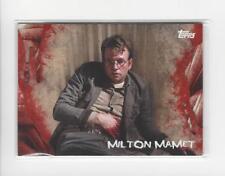 2016 The Walking Dead Survival Box #39 Milton Mamet