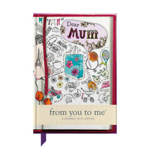 Dear Mum - From You to Me Book, Journal of a Lifetime [Hardback]