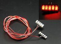 Truck Modellbau SMD LED Beleuchtung rot 7,2volt fertig gelötet