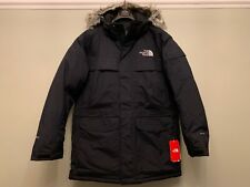 North Face Men's McMurdo Parka Down Jacket, Black, L, New With Tag's RRP £400
