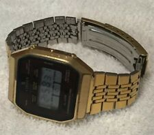 Vintage Citizen Digital LCD Chronograph Alarm Stop Watch Chime New Battery