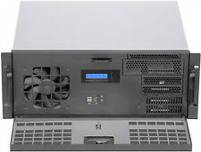 "4U LCD(Door)(D:14.96"")(EATX)(Rackmount Chassis)(Mini Redundant PSU OK!) Case NEW"