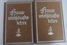 Hauswirtschaftslehre Band 1 und Band 3 Eugenie Erlewein *sehr alt Fachbuch 1940
