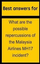 Best Answers for What Are the Possible Repercussions of the Malaysia Airlines...