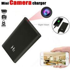 5000mAh Power Bank Hidden Camera  HD 1080P DVR Recorder Night Vision Black