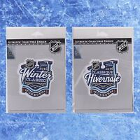 Authentic NHL 2016 Winter Classic Patch English & French Version